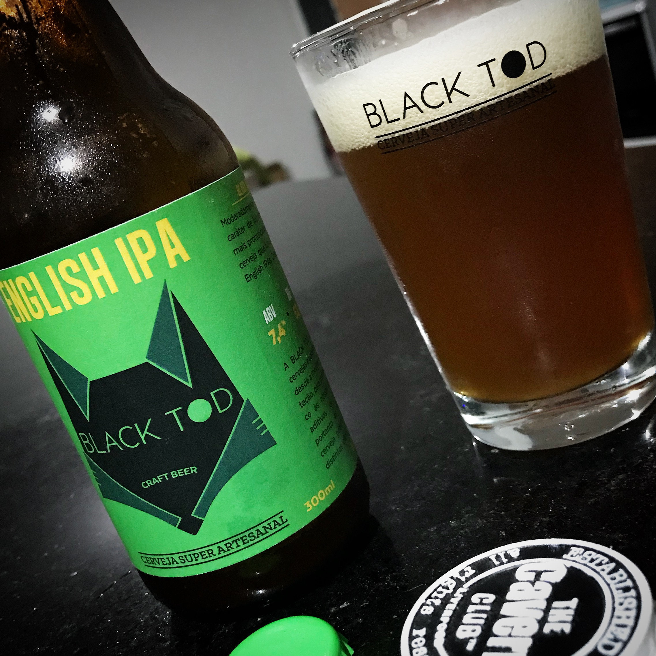 BLACK TOD English IPA